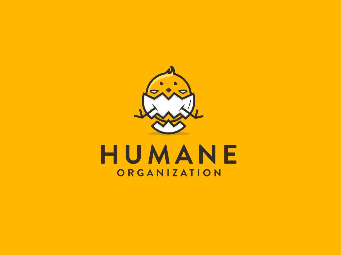 Humane Organization cartoon design chicken-eggs cartoon character little-chicken creative  design fun cartoon art character