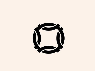 Chain Reaction typography type logotype visual  identity symbol icon symbol minimal id icon mark logo design branding identity brand