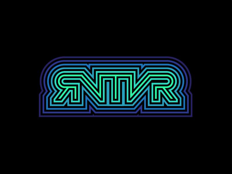 RNTVR Brand Exploration vr type typography brand branding logo