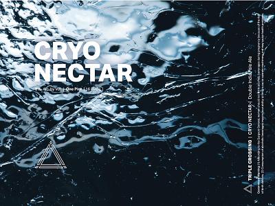 Cryo Nectar DIPA ⟁ Triple Crossing craft beer beer label brewery packaging can triple crossing beer