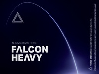 Falcon Heavy ⟁ Triple Crossing