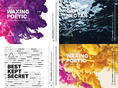 Top Shots of 2018 design branding triple crossing packaging can beer label brewery craft beer beer