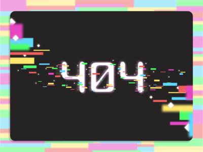 DailyUI - 404 Page