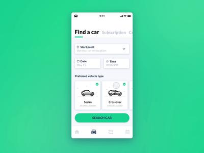 Intellias Car-Sharing Mobile App