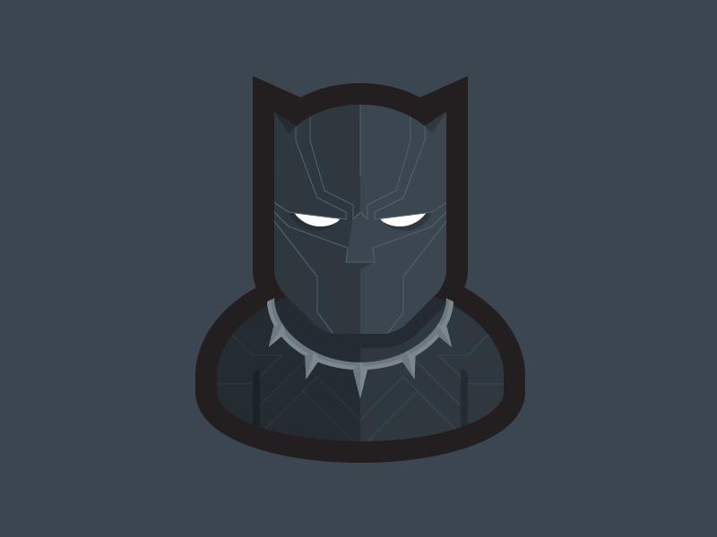 Black Panther user icon wakanda infinity war avengers marvel tchalla black panther