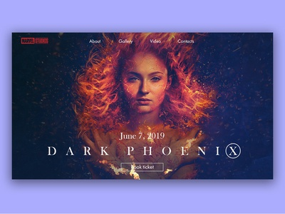 X-Men Dark Phoenix Movie Concept