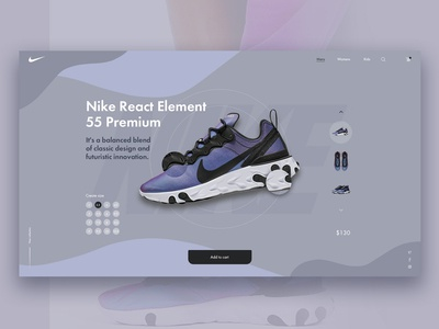 Concept for Nike