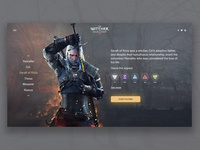 The Witcher 3: Wild Hunt concept.