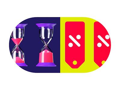 Time is money cinema4d discount money time illustration b3d blender blender3d 3d animation