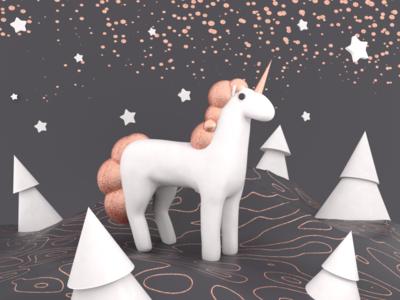 Embacy. Unicorn. cinema4d c4d design 3d illustration minimal embacy mascot