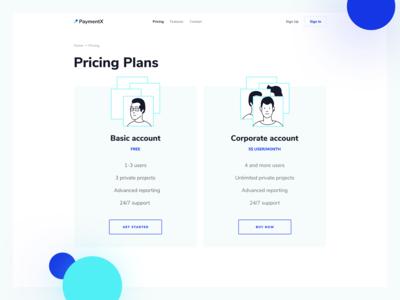 Pricing Plans. Branding & Website Design. PaymentX