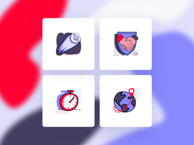 Icons. Corporate Identity & Website Design. ContractX