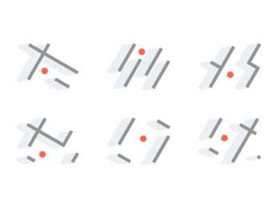 Icon set. Metropolis Ventures.