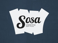 Sosa cleaning service logo