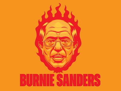 Burnie Sanders democrat preseident america bernie sanders bernie art design illustration vector