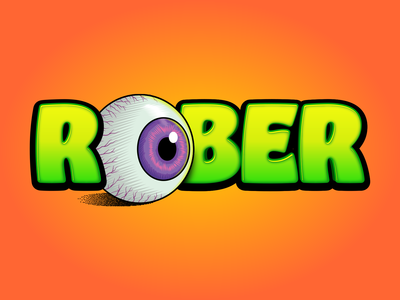 ROBER scary logo