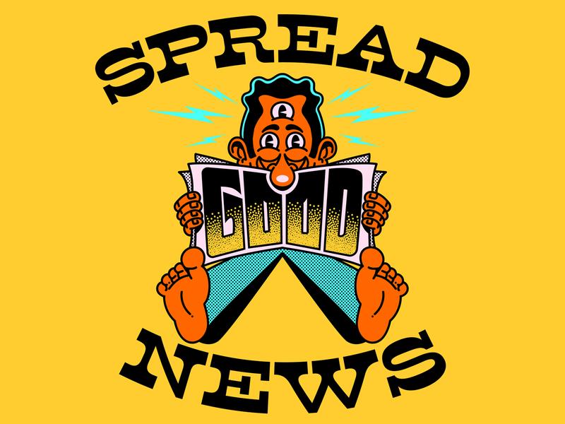 Spread GOOD News / Espalhe BOAS Notícias