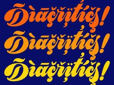 Diacritics