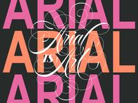 Arial Is Art