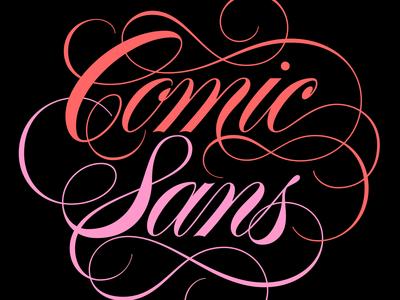 Comic Sans Love