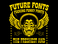 Future Fonts Funky Fanart