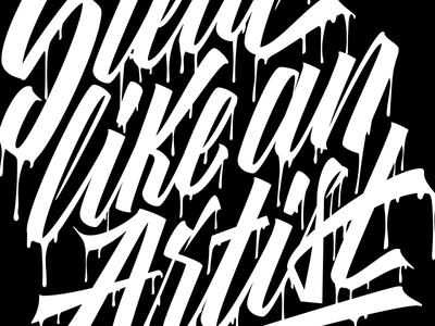 Steal Like An Artist life picasso art quote design type lettering typography