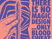 No. Magic. Design.