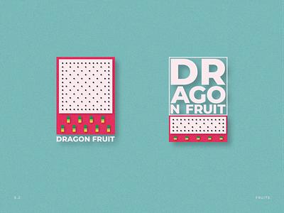 Dragon Fruit dots effect grain sandro adobe illustrator dragon fruit fruit illustration fruit illustration