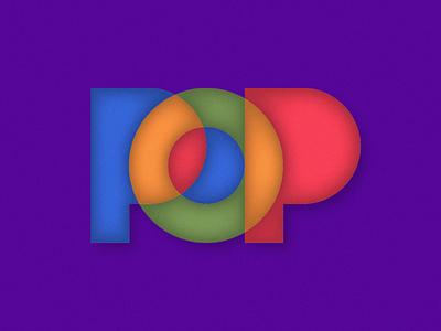 POP sandro shapes grain noise minimalism minimalistic art minimalistic type yellow orange pink purple green red blue colours colour color colors pop