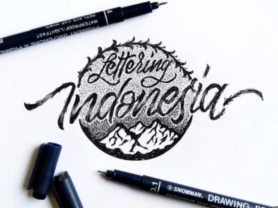 Lettering Indonesia