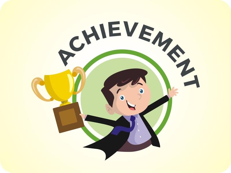 Illustration Character - Achievement
