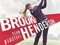 #TeamBioSteel Graphics - Brooke Henderson