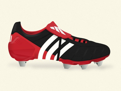 Predator Boots vector illustration adidas predator soccer cleats boots