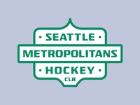 Seattle Metropolitans Badge