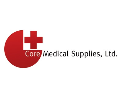 Dribbble Core logo medical red