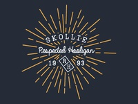 Skollie Respected Hooligan Logo