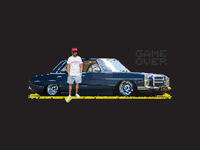 Tauriq's 'GAME OVER' Benz