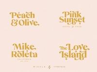 Mikela - Three Gorgeous Typefaces