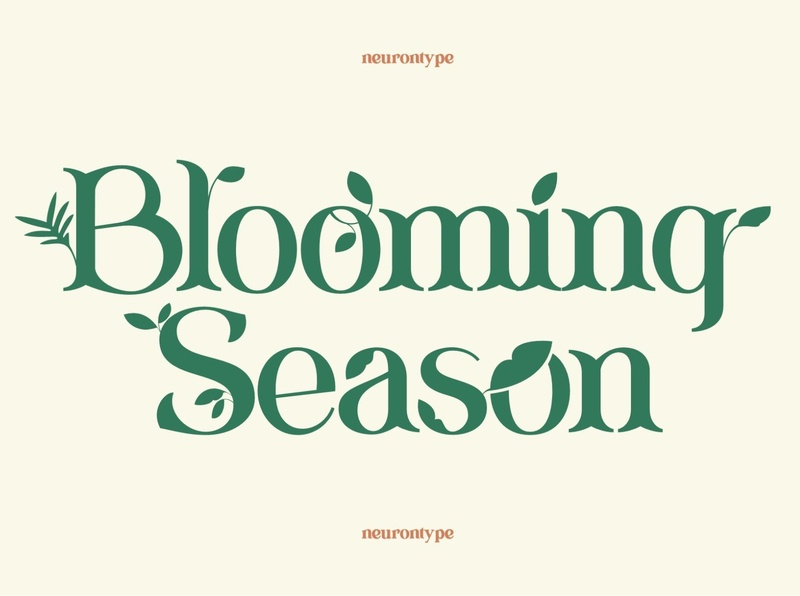 Blooming Season Font
