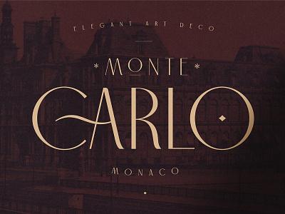 Carlo Monaco - Elegant Art Deco calligraphy fonts modern art sans serif fonts sans serif serif font serif elegant fonts serif fonts font design fonts collection art design design classy branding typography font art decor art deco elegant art deco