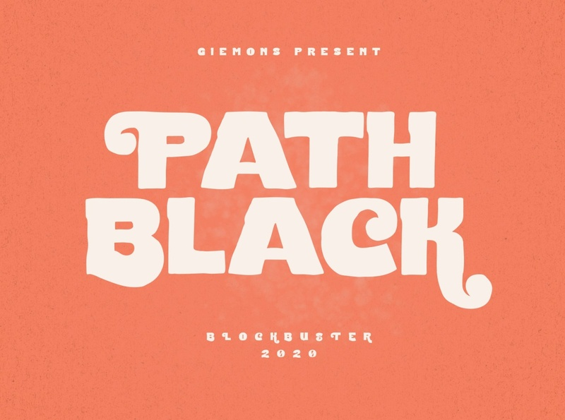 Path Black Typeface lettering bold fonts logo font movies logos calligraphy font design fonts collection bold font retro fonts poster logo badge typeface typography fonts font display modern bold