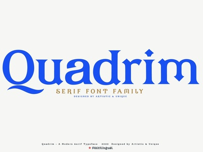 Quadrim - Serif Font Family style font classic style typeface typogrpahy lettering fonts sans serif fonts modern fonts elegant fonts fonts collection font design family design branding sans serif font sans serif font family font serif fonts serif font family serif font