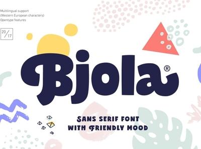 Bjola Sans Serif modern branding elegant fonts font design fonts collection typeface bold typeface bold fonts bold font bold typography font sans fonts sans font serif fonts serif font serif sans serif fonts sans serif font sans serif