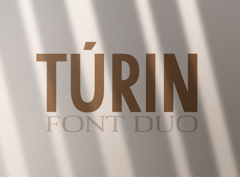 Túrin - Sans-Serif & Serif Duo classic font modern fonts elegant fonts font design fonts collection design calligraphy professional branding logo lettering typography typeface serif typeface serif fonts serif duo font duo serif font sans serif font sans serif