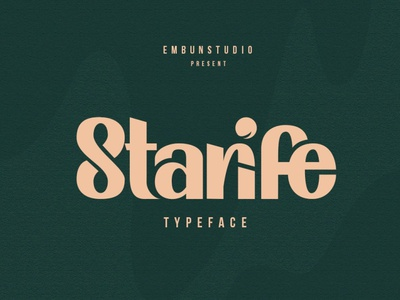 Starife Typeface lettering design calligraphy fonts modern calligraphy calligraphy serif modern fonts elegant fonts serif font sans serif serif fonts font design fonts collection typeface designer typefaces typeface design display fonts new typeface display font