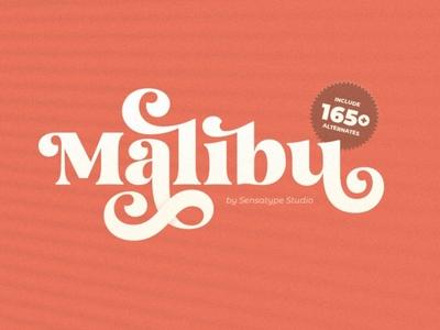 Malibu Fancy Vintage Font fancy font download malibu vintage fancy design sans serif font serif branding modern fonts elegant fonts serif font sans serif serif fonts font design fonts collection