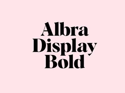 Albra Display Bold minimal simple professional design modern fonts elegant fonts serif font sans serif serif fonts font design fonts collection display fonts lettering typography typeface fonts font bold font bold display font