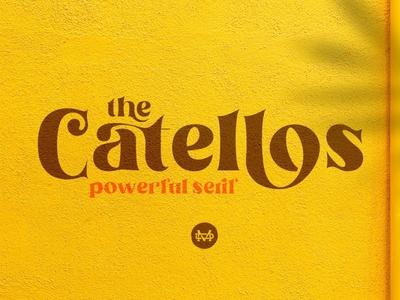 Catellos Serif Font packaging serifs ligature font serif typeface calligraphy font professional design logo serif branding elegant fonts font design fonts collection modern fonts sans serif typeface sans serif fonts serif fonts sans serif font sans serif serif font