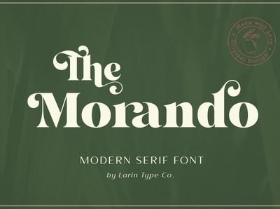 Morando - Modern Serif Font luxury font elegant font modern font logo serif sans serif font branding modern fonts elegant fonts serif fonts font design fonts collection fonts professional design font sans serif serif font modern serif font modern serif