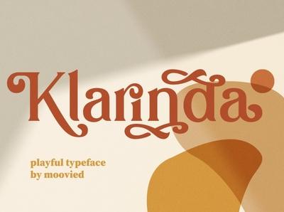 Klarinda Playful Serif modern simple typeface branding modern fonts elegant fonts fonts collection font family font design modern calligraphy calligraphy font design serif fonts fonts font sans serif font sans serif serif font serif playful